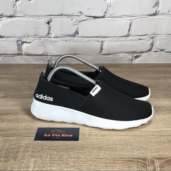 Adidas Neo Lite Racer Slip On Core Black
